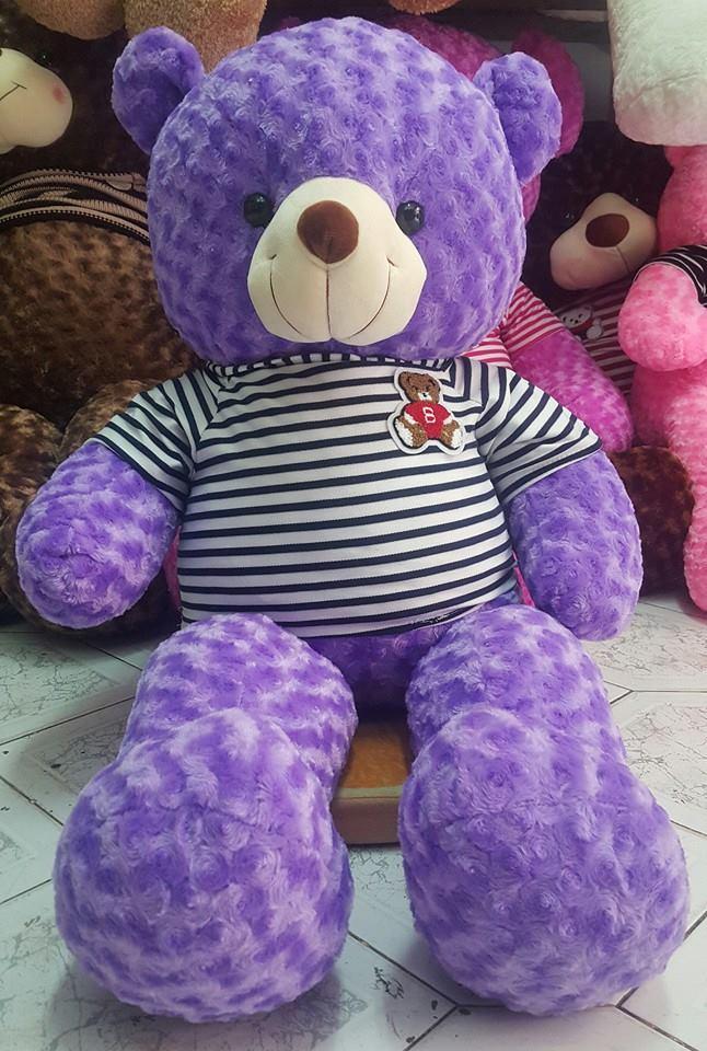 Gấu bông màu tím đẹp 07