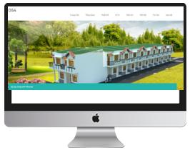 mẫu website bất động sản đẹp