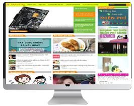 template blogspot bán hàng tích hợp giỏ hàng chuyên nghiệp