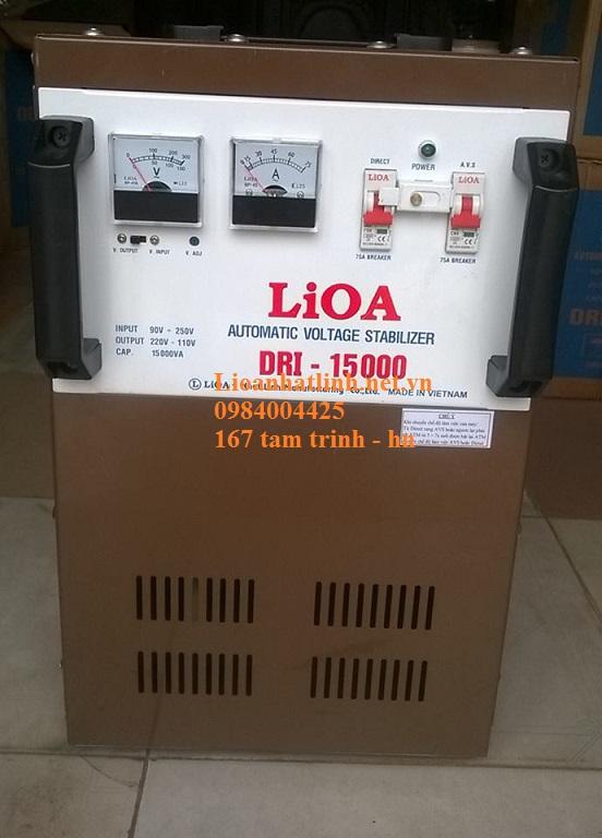 ỔN ÁP LIOA 15KVA ( DRI - 15000) NĂM 2016