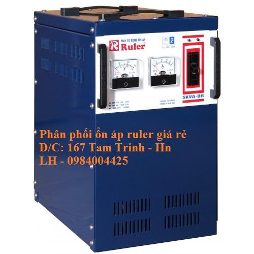 ỔN ÁP RULER 5KVA - DR ( 90V - 250V)