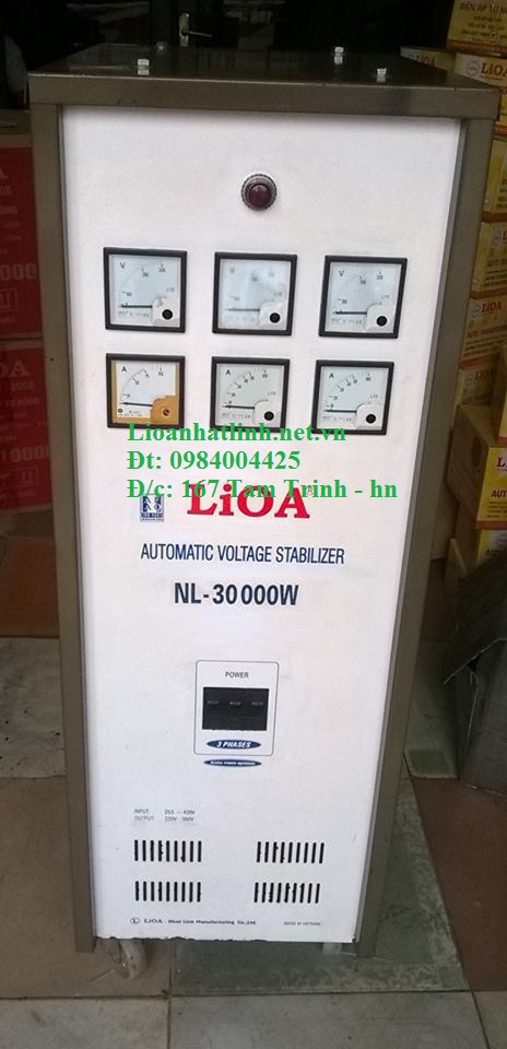 ỔN ÁP LIOA 30KW 3 PHA