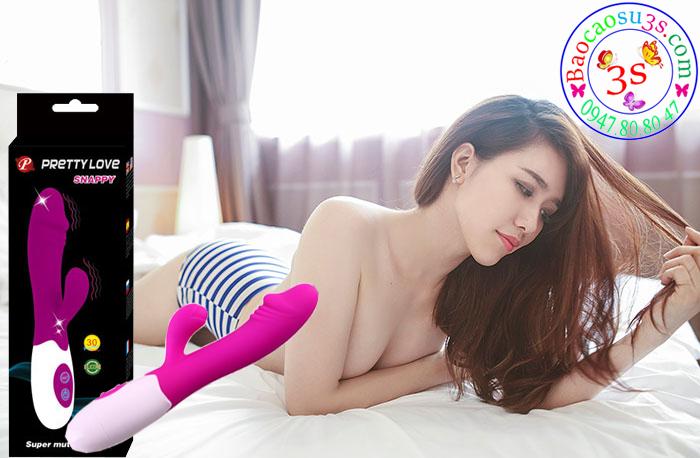 Đồ chơi người lớn cho nữ giới, máy massage Pretty Love