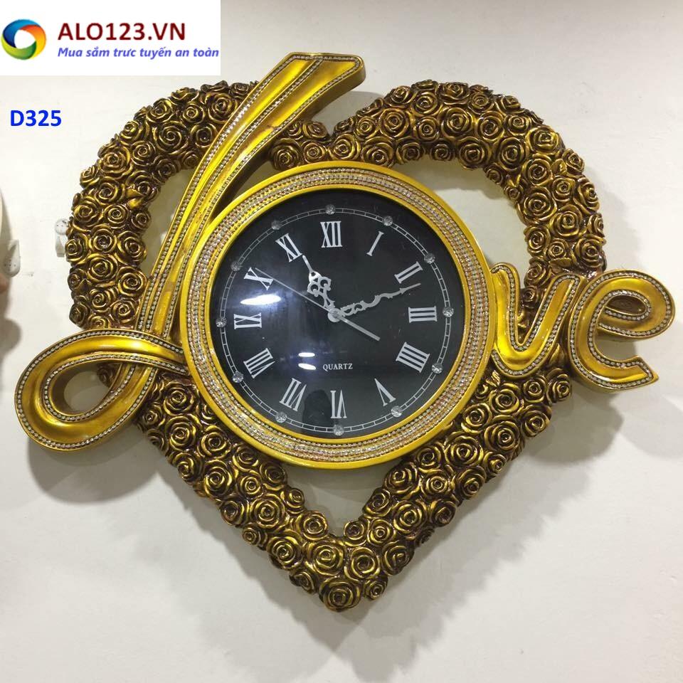 đồng hồ treo tường trái tim