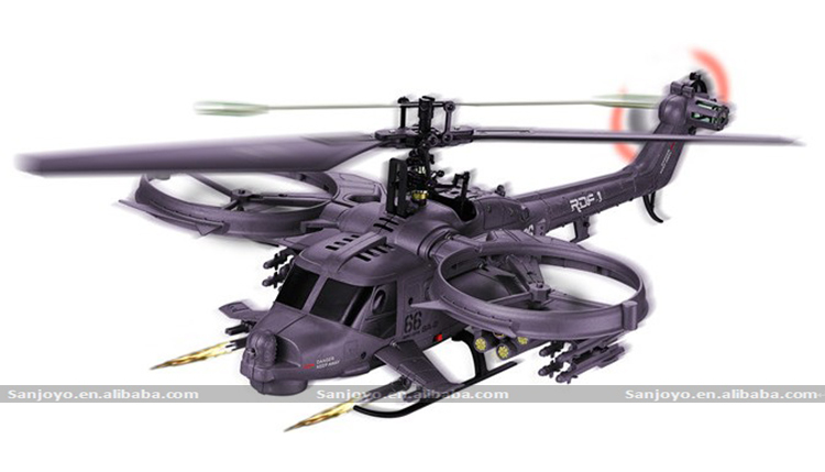 FX066 Avatar Gunship 4CH RC Helicopter w/ Gyro outdoor RC copter