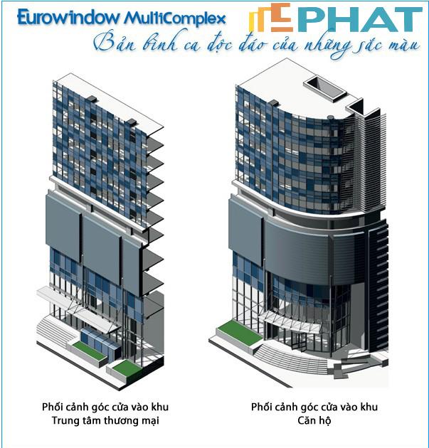 Quy mô dự án Eurowindow Multicomplex