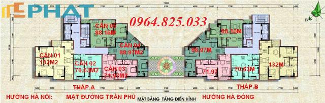 Bán chung cư số 7 Trần Phú