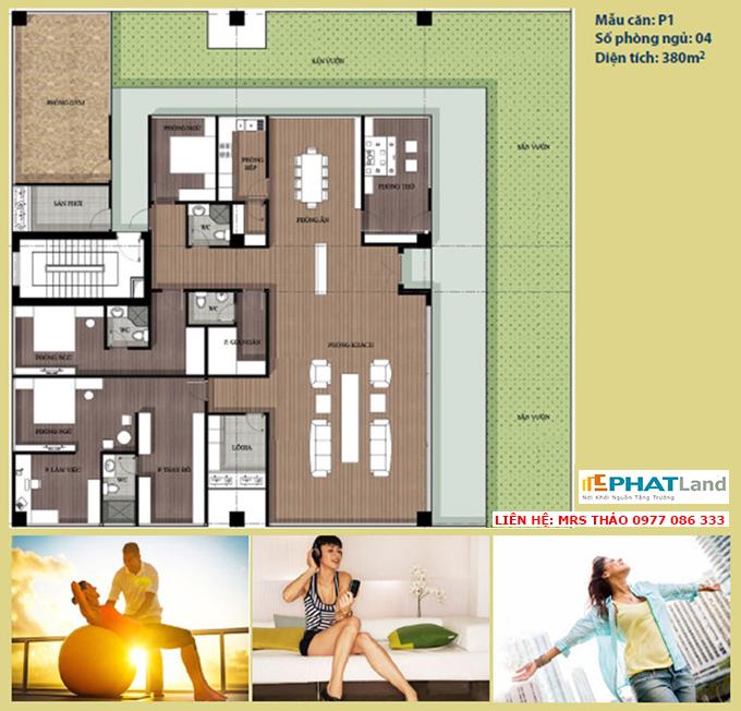 mẫu căn the artemis, bán dự án chung cư artemis