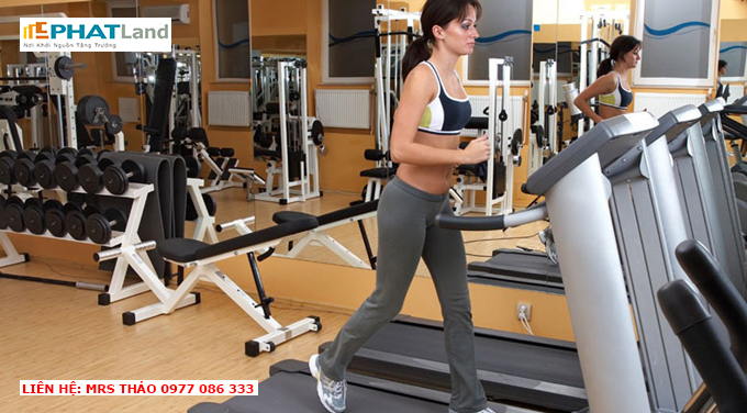 phòng tập gym chung cư artemis