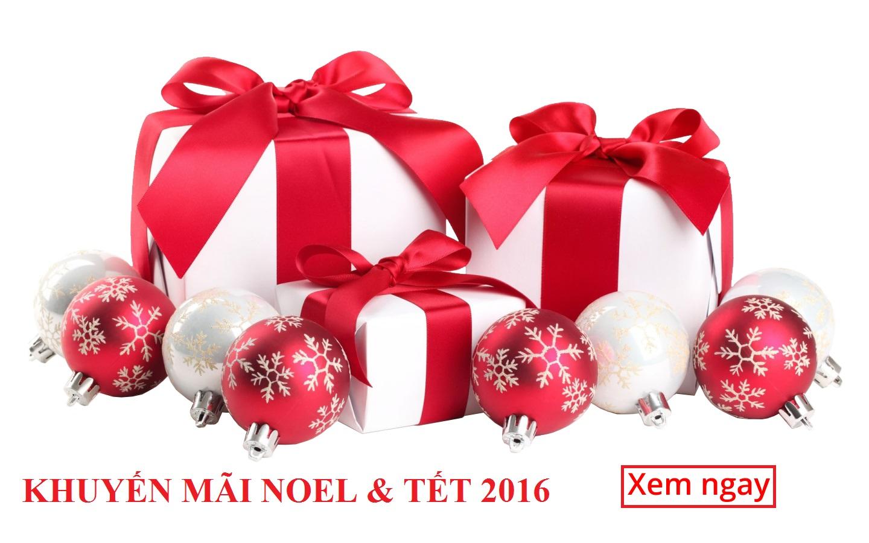 Khuyến mãi lớn Noel và Tết 2016