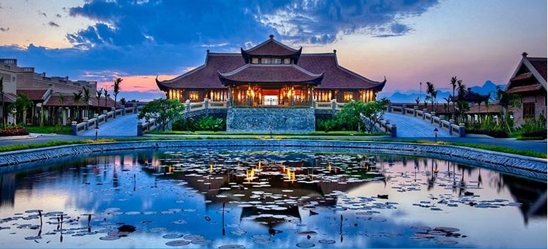 Công trình Emeralda Resort Ninh Bình do AN VIỆT lắp đặt hệ thống điều hòa
