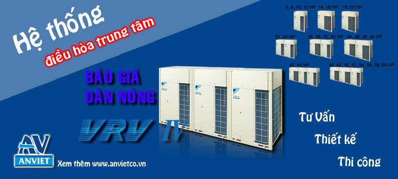 Hệ thống điều hòa VRV-IV