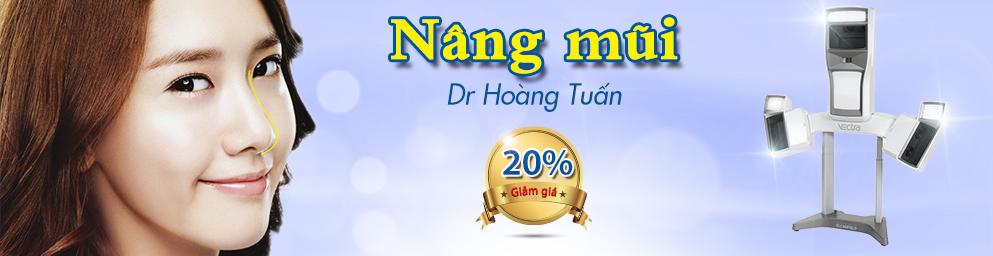 Khuyến mại nâng mũi 20%
