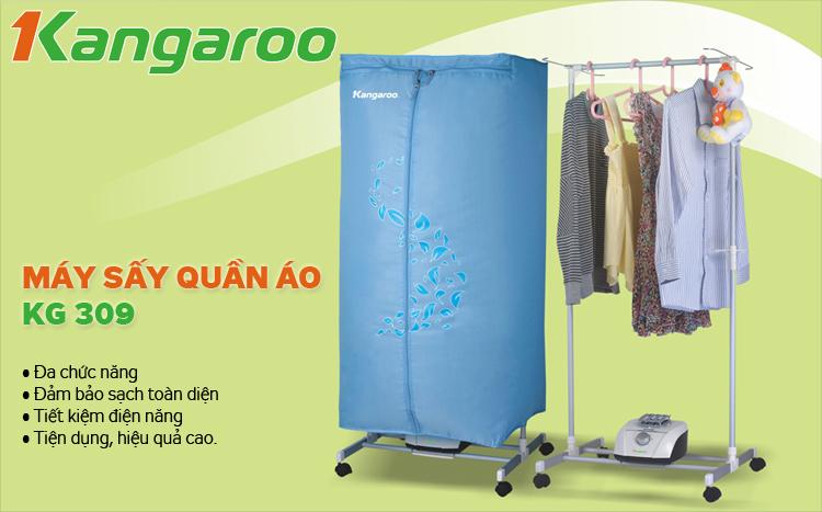 Tính năng Máy sấy quần áo Kangaroo KG309