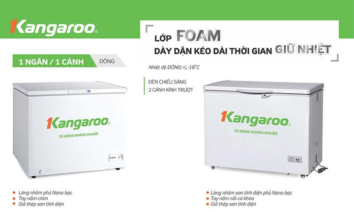 Tu đông kháng khuẩn Kangaroo KG292A1