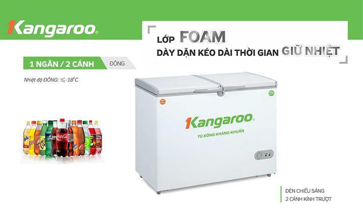 Tu đông kháng khuẩn Kangaroo KG668A1
