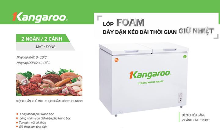 Tu đông kháng khuẩn Kangaroo KG568A2