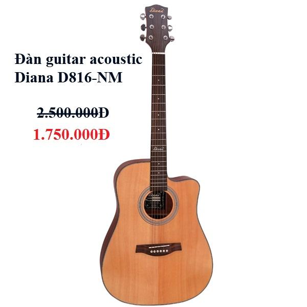 Đàn guitar acoustic Diana D816NM
