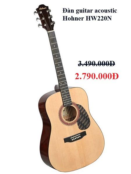 Đàn guitar acoustic Hohner HW220N