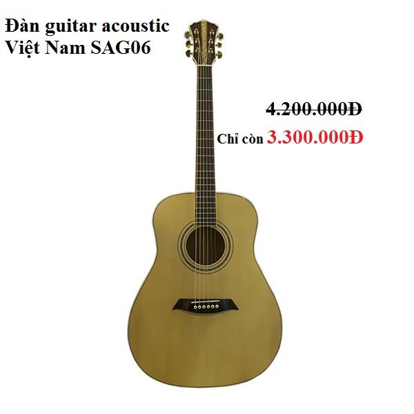 Đàn guitar acoustic Việt Nam SAG06