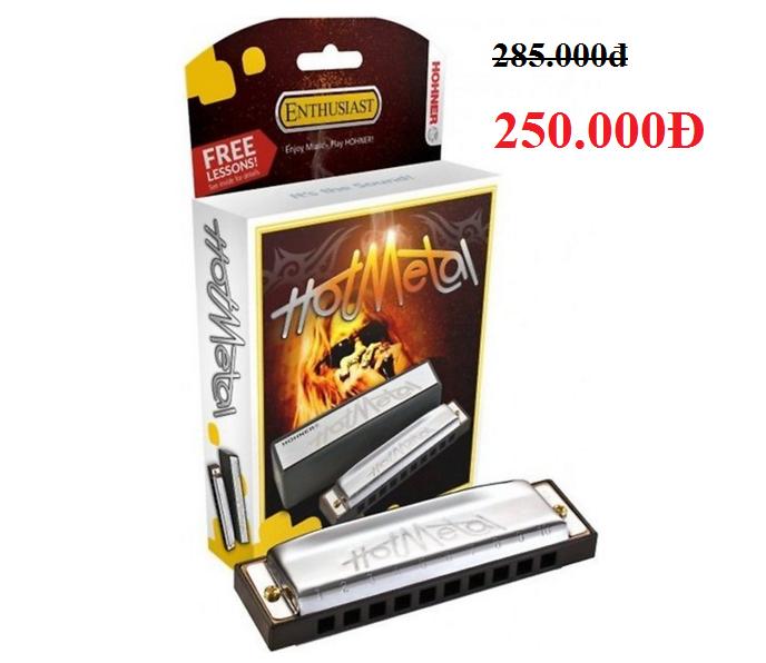 Diatonic Harmonica Hot Metal M57201 key C