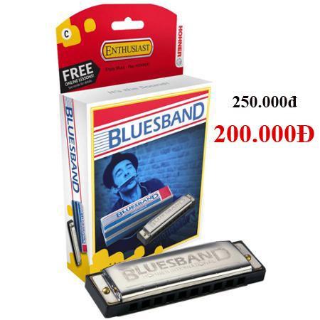 Kèn Harmonica Hohner Blues Band M55901 key C