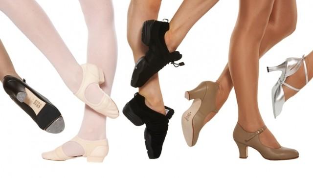 Lựa chọn giầy khiêu vũ
