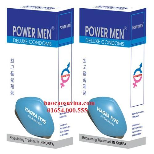 Bao cao su PowerMen Viagra