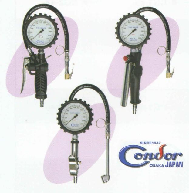 Các loại đồng hồ bơm lốp Nhật, đồng hồ bơm lốp dạng kim chỉ, CG1, CG2, CG3