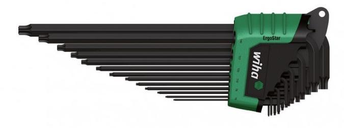 Bộ hoa thị chữ L, bộ hoa thị Wiha với các cỡ từ T5 đến T45, Wiha 36504