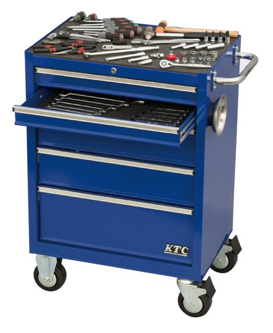 Xe dụng cụ KTC SKX3805, bộ dụng cụ sửa chữa, xe dụng cụ nhập khẩu