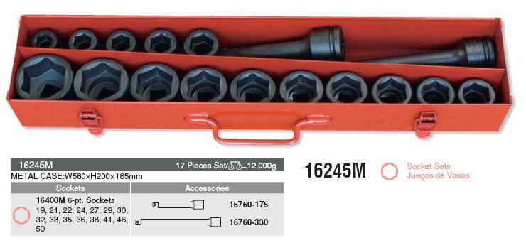 Bộ đầu khẩu Koken 3/4 inch, Koken 16245M
