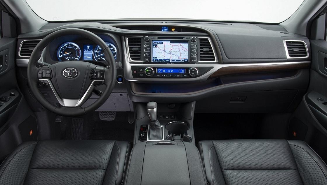 Nội thất Toyota Highlander 2016, nội thất xe Toyota SUV Highlander 2016,