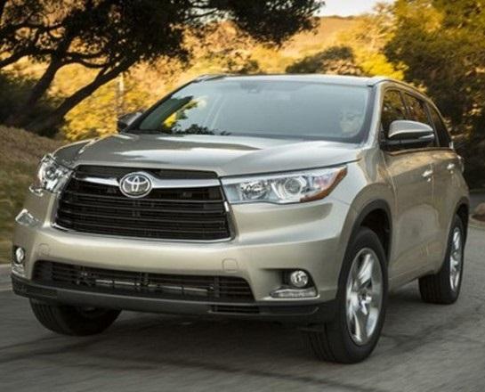 Toyota Highlander 2016, Toyota Highlander nhập khẩu từ Mỹ,