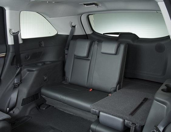 Hàng ghế thứ 3, Toyota Highlander 2016, dòng xe 7 chỗ SUV