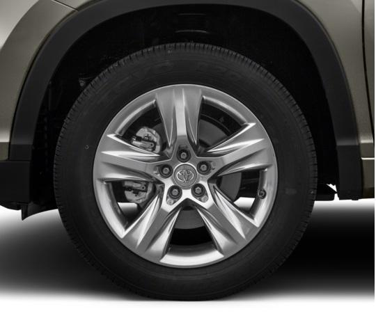 Bánh xe 19 inch, bánh xe Toyota Highlander 2016