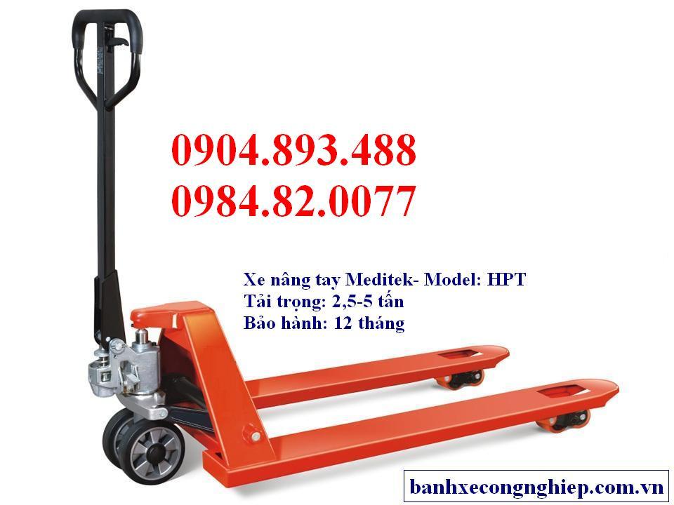 xe nang tay Meditek Dai Loan