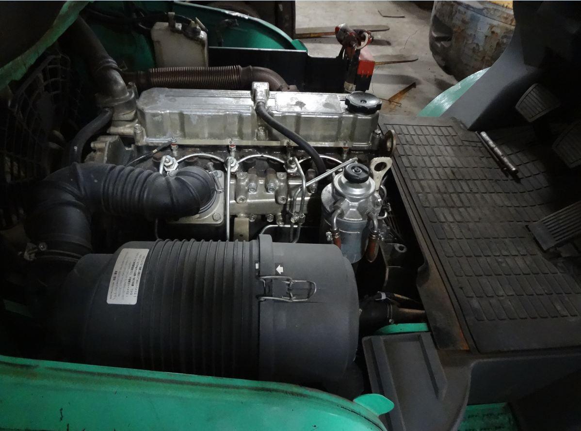 Động cơ xe nâng dầu Mitsubishi cũ