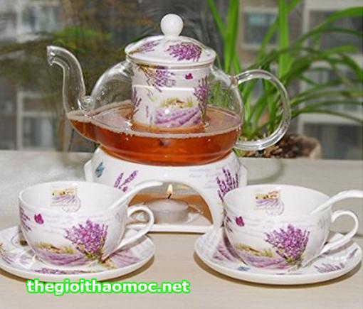 Bộ ấm tách phong cách trà Anh châu Âu cổ điển