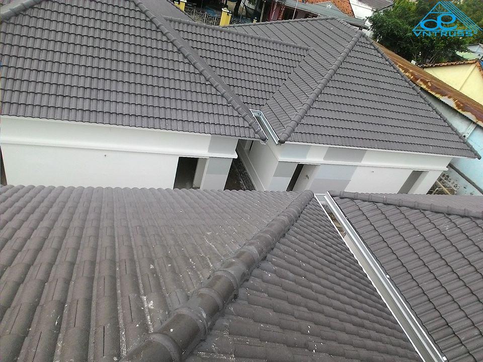 KS Bình Dương sử dụng Vì kèo thép mạ VNTRUSS cho mái lợp ngói