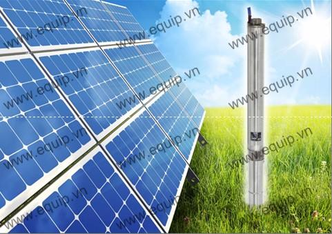 Bơm nước năng lượng mặt trời tiết kiệm điện năng