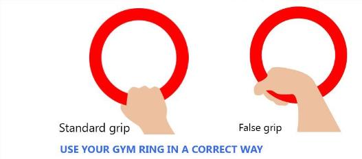 Nắm Vòng treo Gymnastic Rings