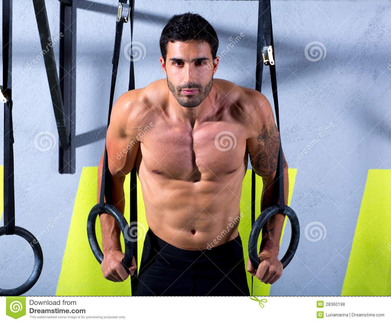 tập cơ bụng săn chắc  với vòng treo Gymnastic Rings