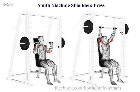 Smith Machine Shoulders Press
