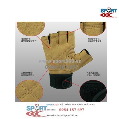 Găng tay tập Gym Sports cao cấp SP13 mặt bên trong