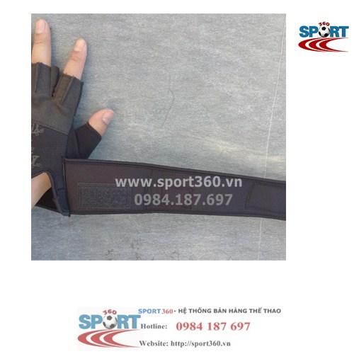 Găng tay tập Gym SCHIEK giá rẻ SP12 có quấn cổ tay dài