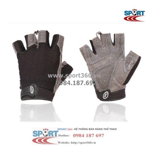 Găng tay tập Gym cao cấp SP01 màu đen