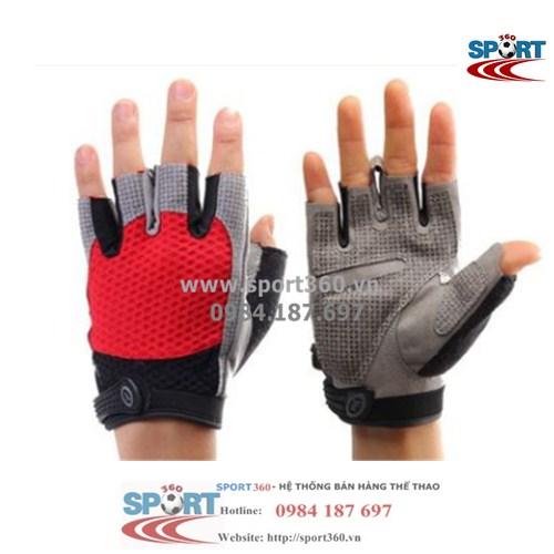 Găng tay tập Gym cao cấp SP01 màu đỏ