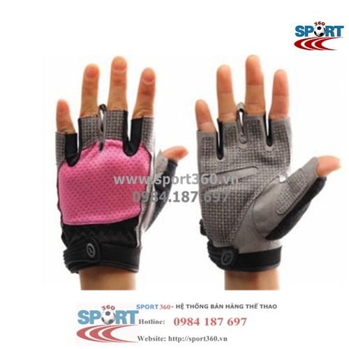 Găng tay tập Gym cao cấp SP01 màu hồng