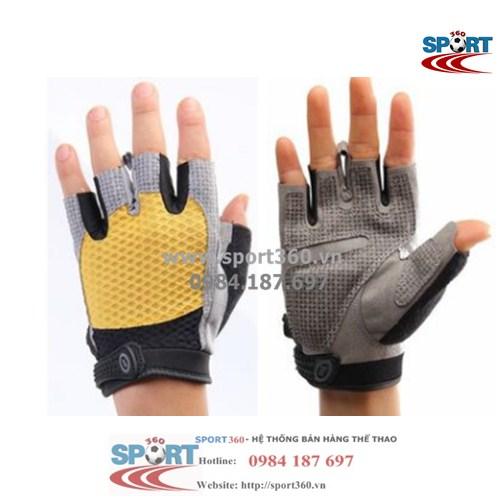 Găng tay tập Gym cao cấp SP01 màu vàng